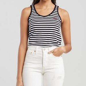 Levi's Bobbi Tank Stripe Sleeveless Tank